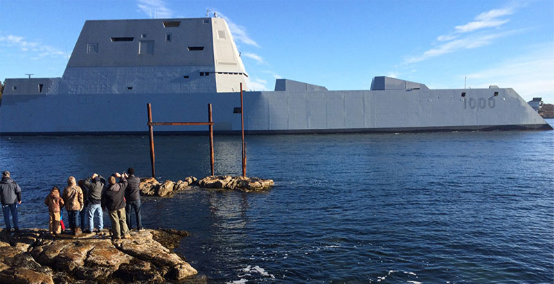 US Navy 'Super Destroyer' Broke Down in Panama Due to New Engineering Casualty