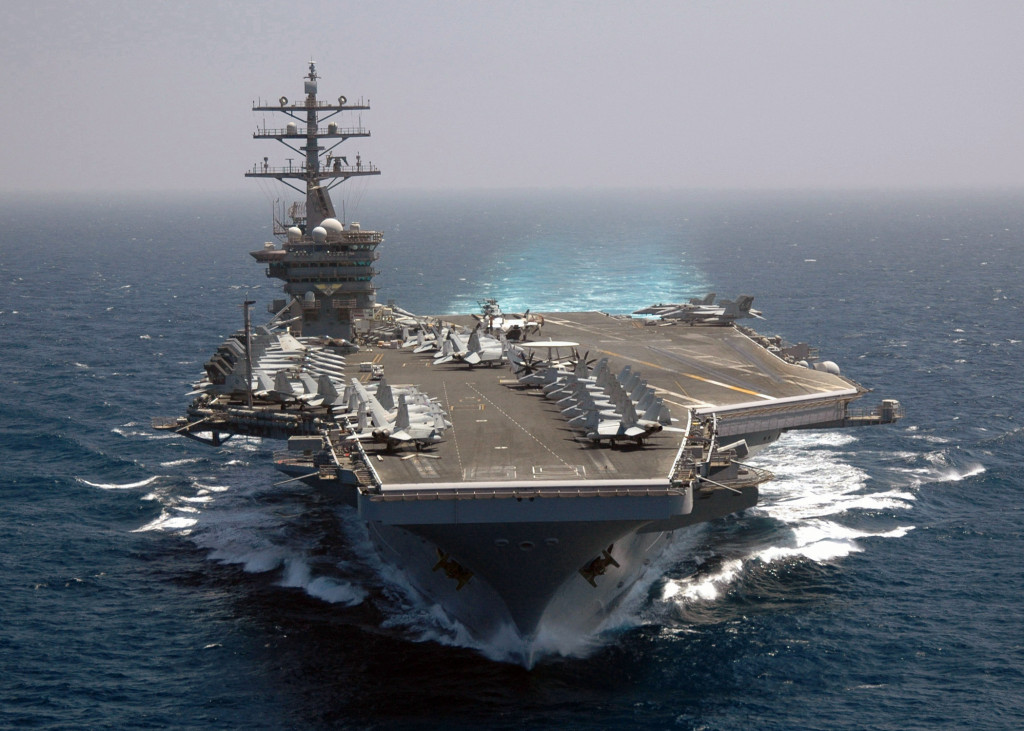 No US Navy Carrier Strike Group in Middle East Now