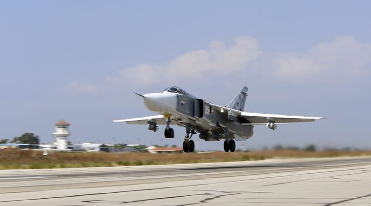 Russian Warplanes Launch Over 100 Strikes As Fighting Between Army And ISIS Rages In Central Syria