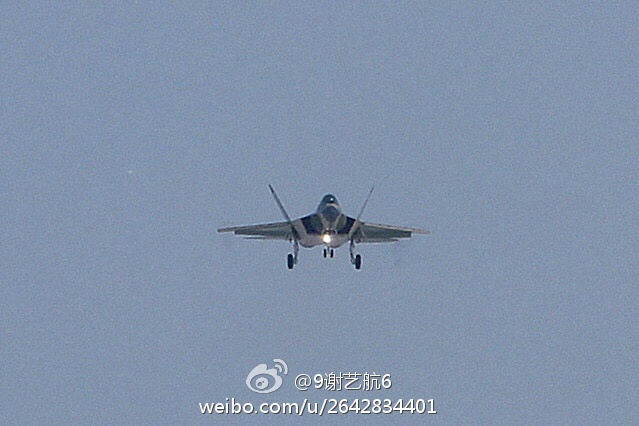 Second Prototype of China's FC-31 Fighter Jet Makes Its First Flight (Photo)