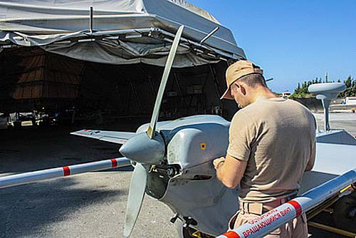Combat Usage of Russian Drones in Syrian War