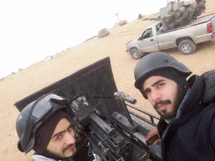 Elite Syrian Army Unit Deploys To Palmyra Countryside