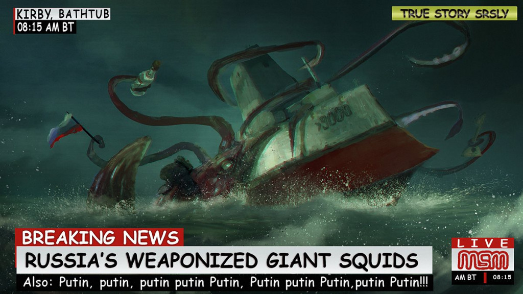 Russia's Weaponized Giant Squids Revealed!