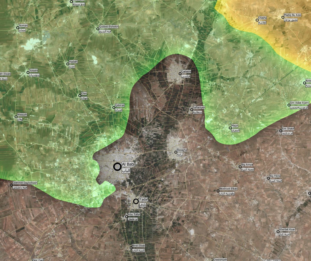 Turkey-Led Forces Aiming To Encircle Al-Bab In Syria's Province Of Aleppo (Map, Video)