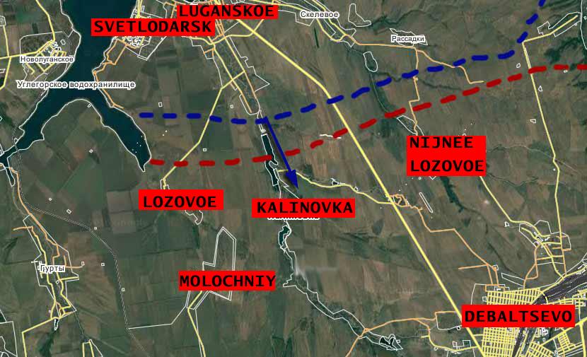 Ukrainian Army Advancing Against DPR Militia In Donbass Region