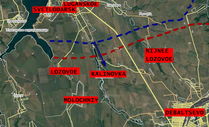 Ukrainian Army Advancing Against DPR Militia In Donbass Region