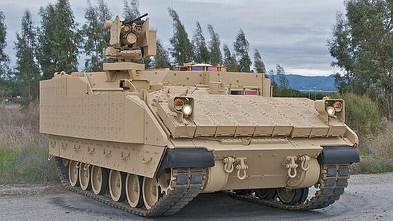 BAE Systems AMPV General Purpose tracked carrier based on the M2 Bradley.
