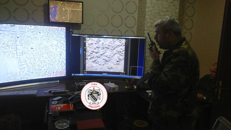 Special Operations Room Of The Syrian Army's Tiger Forces In Aleppo - Photo Report