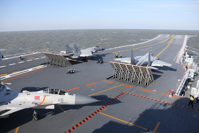 As Well The J 15 Fighters Liaoning Can Probably Take Usefully Medium Large Z 18 Helicopter