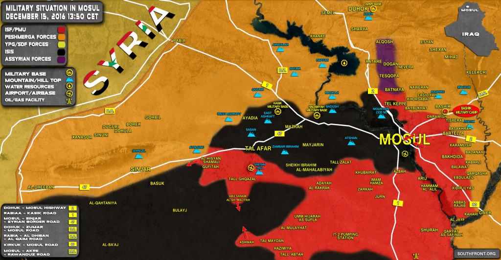 Iraq: ISIS Retreats From 10 Villages Near Tal Afar