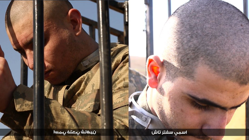 ISIS Burns Alive Two Turkish Soldiers Captured Near Al-Bab