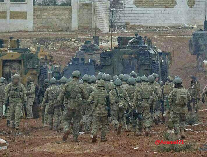 More Turksih Soldiers Than 'Rebels' Participate In Advance Against ISIS In Al-Bab? (Photos 18+)