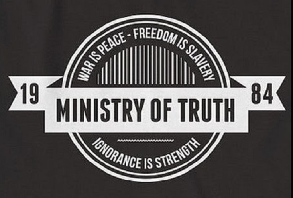 The US Ministry Of Truth Is Officially Born