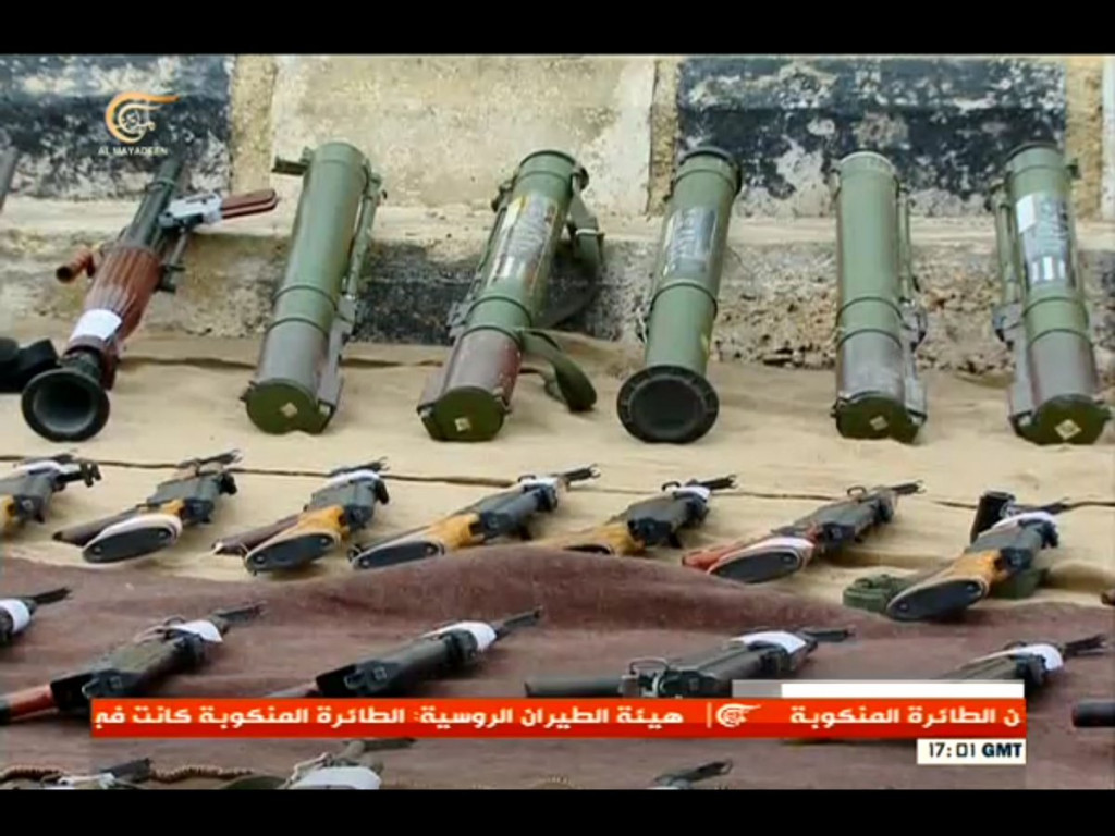 Hundreds Militants Lay Down Arms In Daraa Province (Photos)