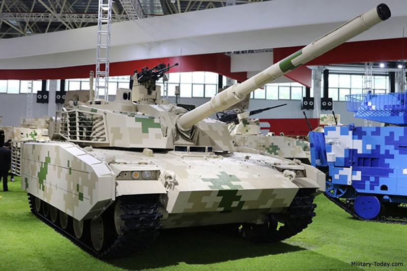 NORINCO light tank export project ZT5. A good balance of mobility, firepower and armor protection. The main gun can fire all NATO standard 105mm ammunition.