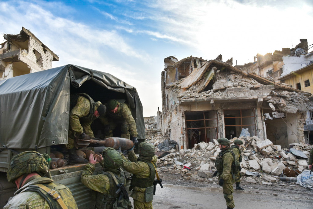 Russian Engineers Demining Aleppo City - Photo Report