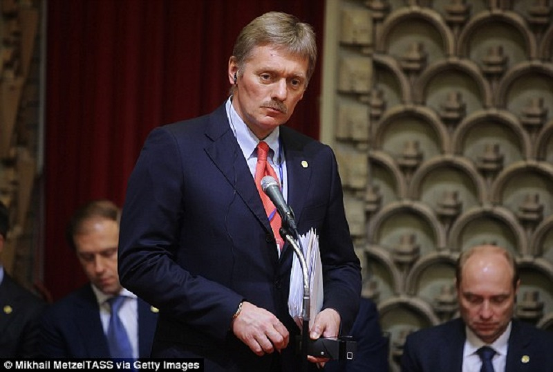 Kremlin Spokesman Refused To Comment On Reports That Moscow And Ankara Agreed On Plan Of Comprehensive Ceasefire In Syria