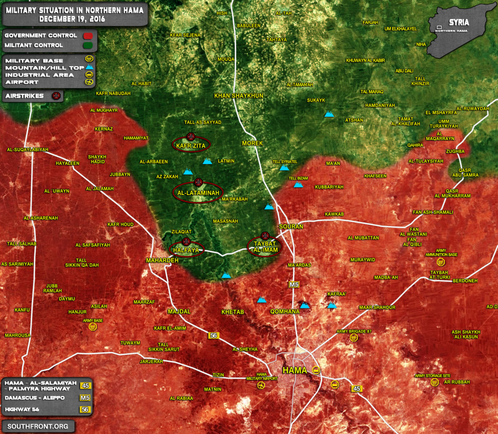 Syrian Air Force Purges Jihadists Manpower Preveting Them From Offensive Operations In Eastern Hama