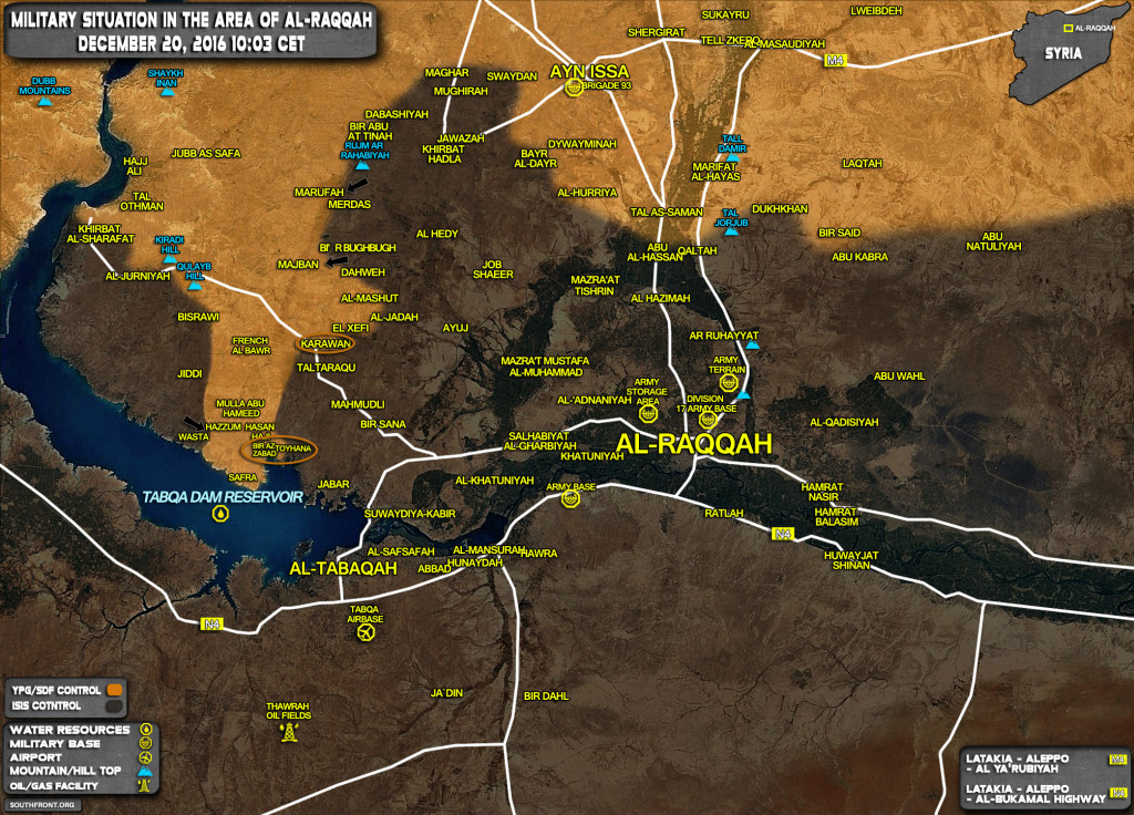 Kurdish YPG Forces Liberate 54 Villages From ISIS In Province Of Raqqah