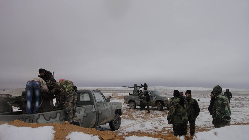'General Winter' Comes Along With 'Russians' To Tyas Airbase - Photo Report
