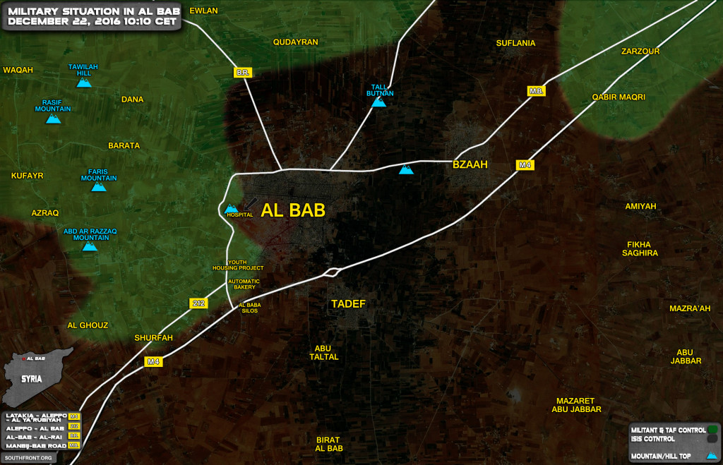 Turkish Forces Retreat From Al-Bab Hospital, Suffer Heavy Casualties (Photos, Map)