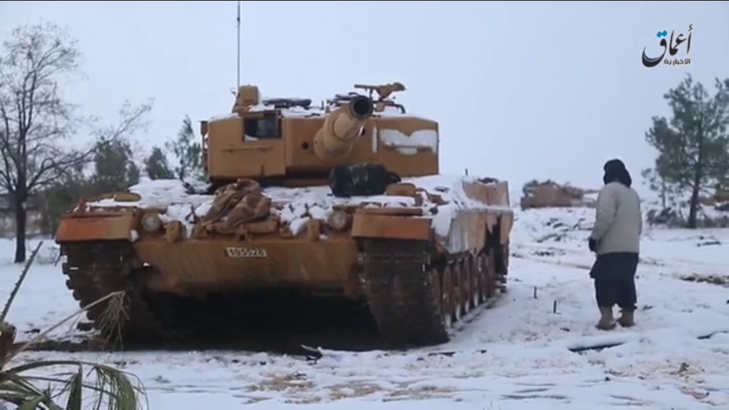 ISIS Releases More Photos, Video With Captured & Destroyed Turkish Military Equipment