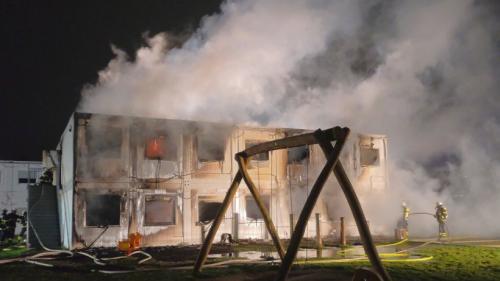 """""""Suspicious"""" Fire Burns Down Hamburg Refugee Center"""