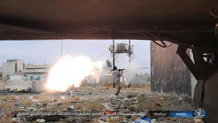 Iraqi Forces And ISIS Clashing For Al-Quds District Of Mosul