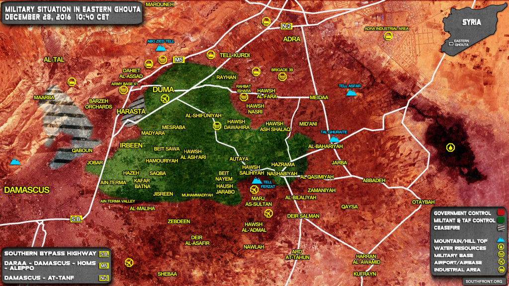 Jaish Al-Islam: 250 Pro-Govt Fighters Were Killed In Eastern Ghouta In November
