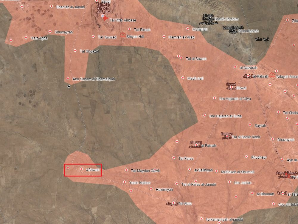 Iraqi Forces Liberate Ashwah From ISIS In Western Mosul Countryside