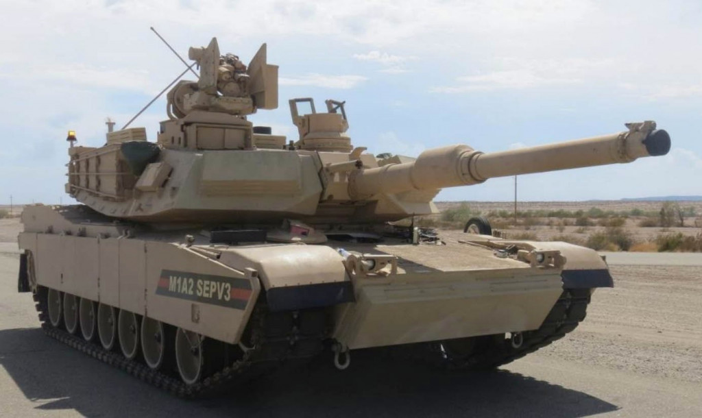 M1A2 SEPv.3. Latest upgraded MBT scheduled to be adopted into the U.S. Army starting in 2017.