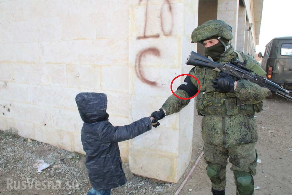First Photos Of Russian Military Police In Syria's Aleppo