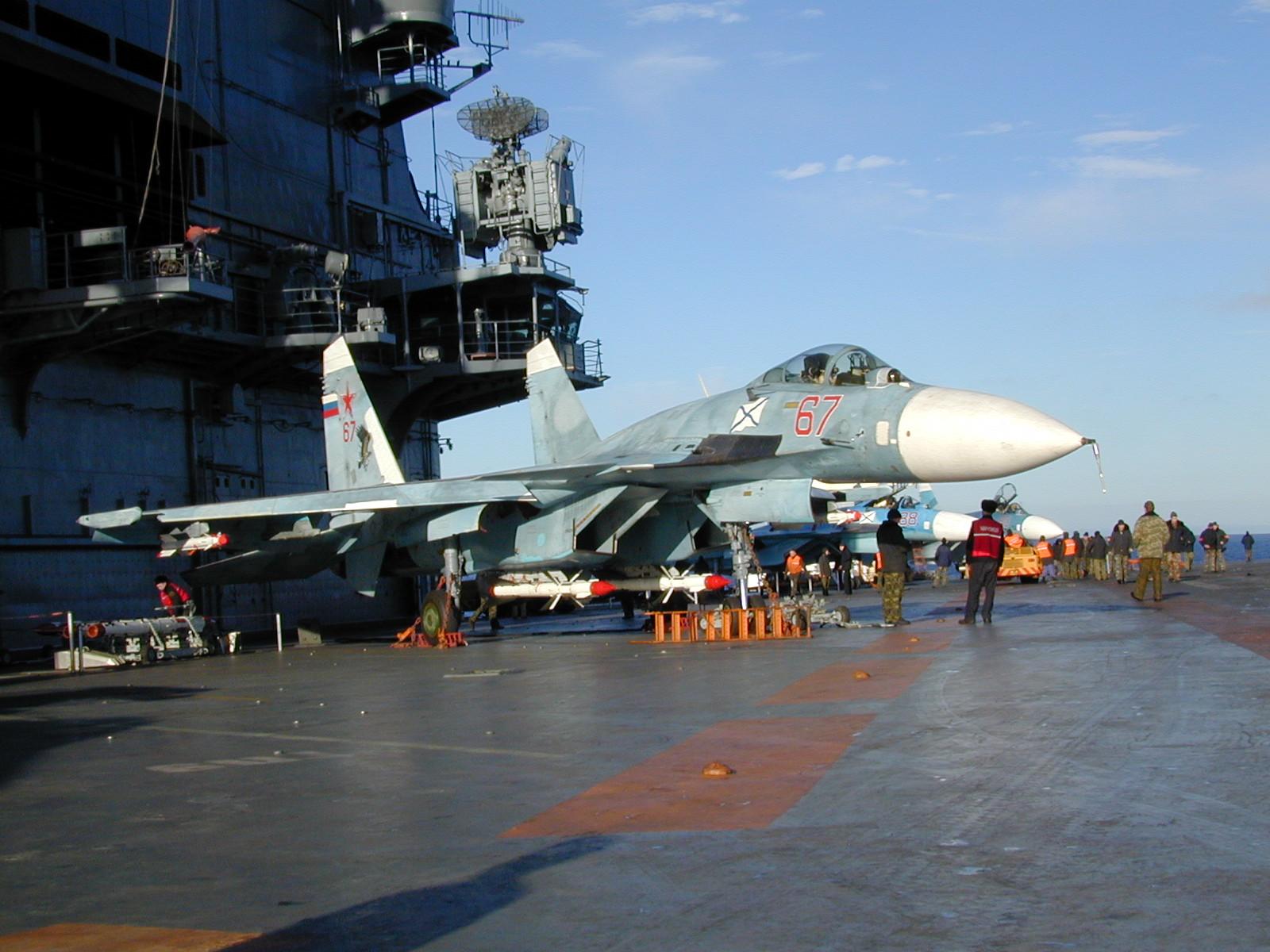 Admiral Kuznetsov's Su-33 Crash - Pilot's Error (Main Version, Additional Details)
