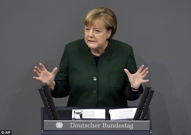Merkel Promises To Rid Internet Of Alternative Media