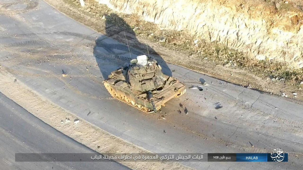 Turkish Forces Advance (Again) On Al-Bab. More Photos Of Military Equipment Abadoned By Turkish Army & Militants