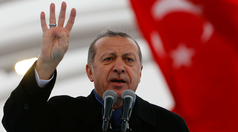 Erdogan: Turkey Has Evidence That US-Led Coalition Gives Support To ISIS