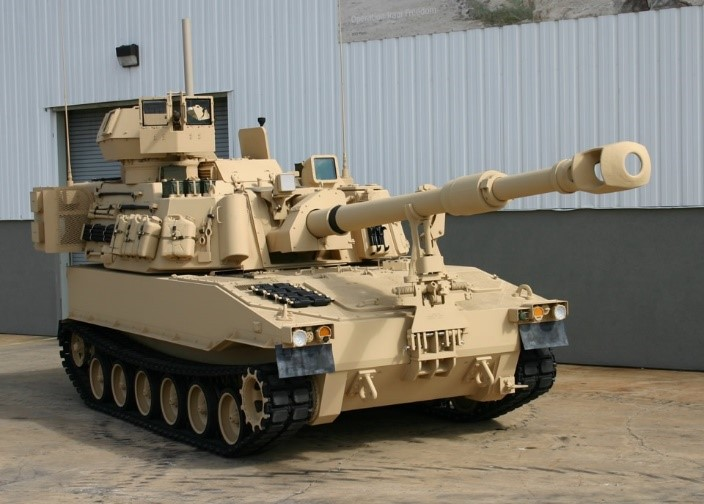 M109A7 PIM prototype. Slated for full-scale production starting in 2017.