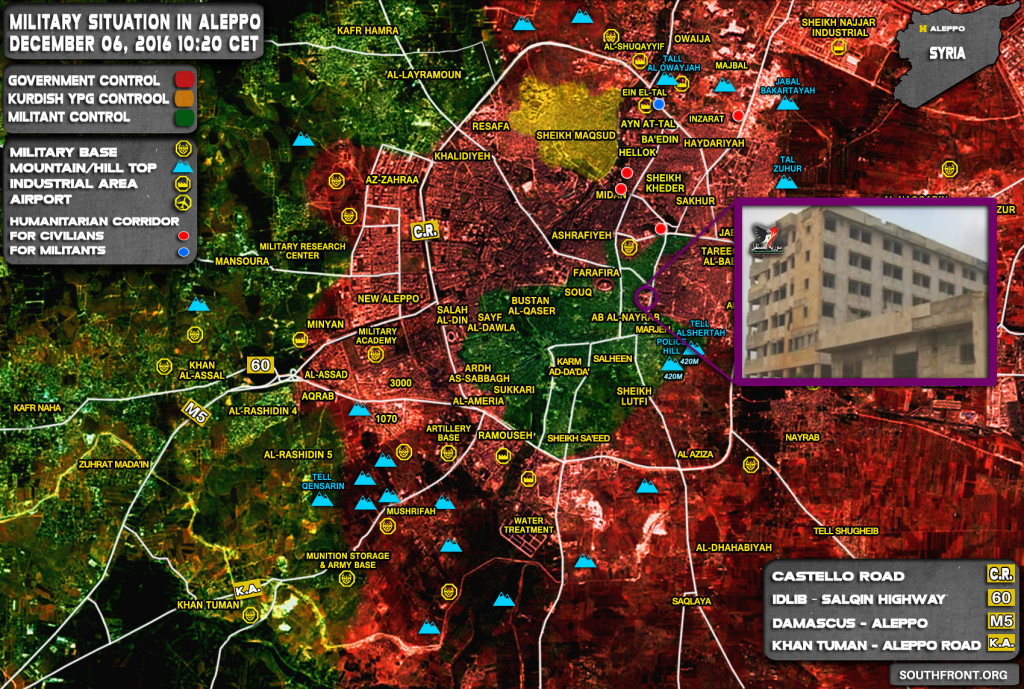"""Moderate Opposition"" Turned Aleppo's National Hospital Into Military HQ & Weapon Depot (Video)"