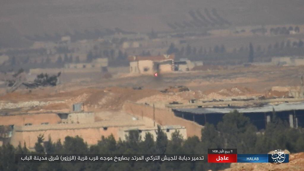 Turkish Forces Storming Al-Bab From 3 Directions
