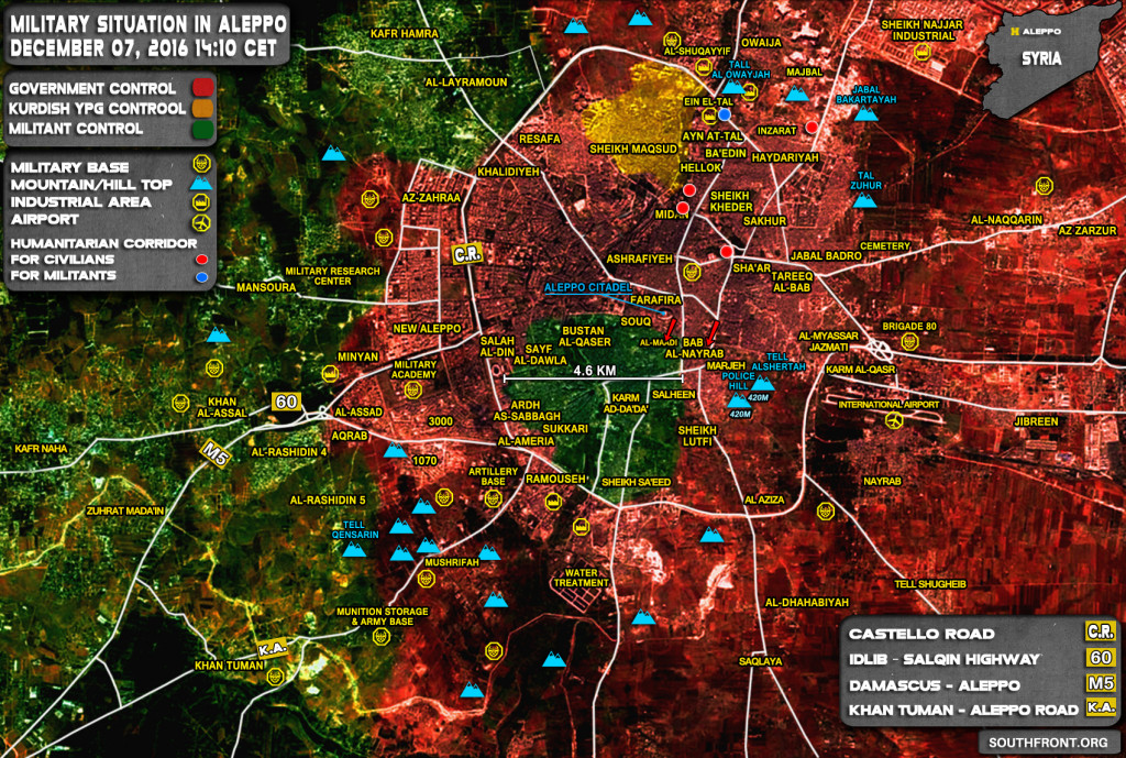 Government Forces Take Bab al-Nayrab District Back From Rebels In Aleppo