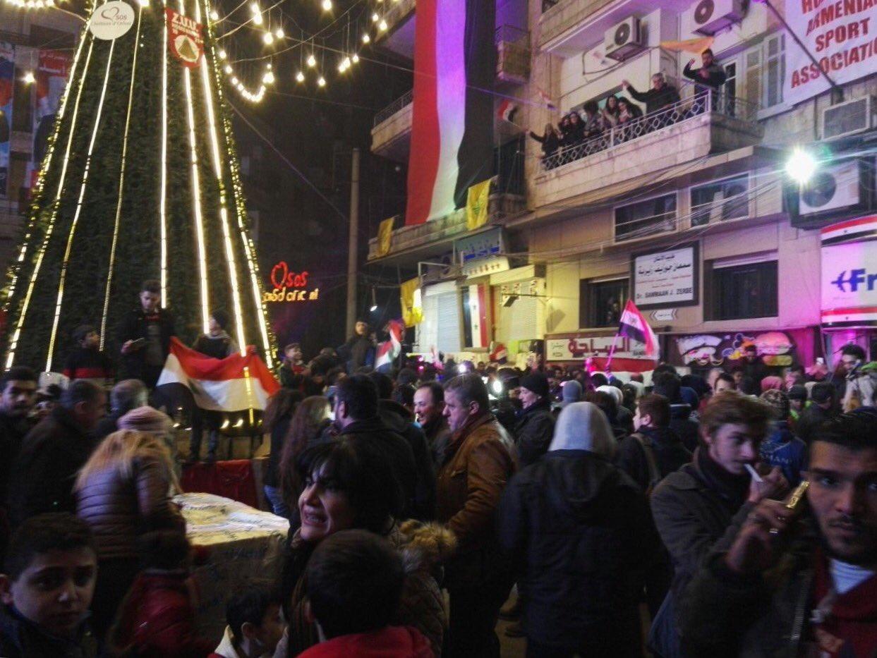 Aleppo Citizens Celebrate Liberation of City (Photo & Video)