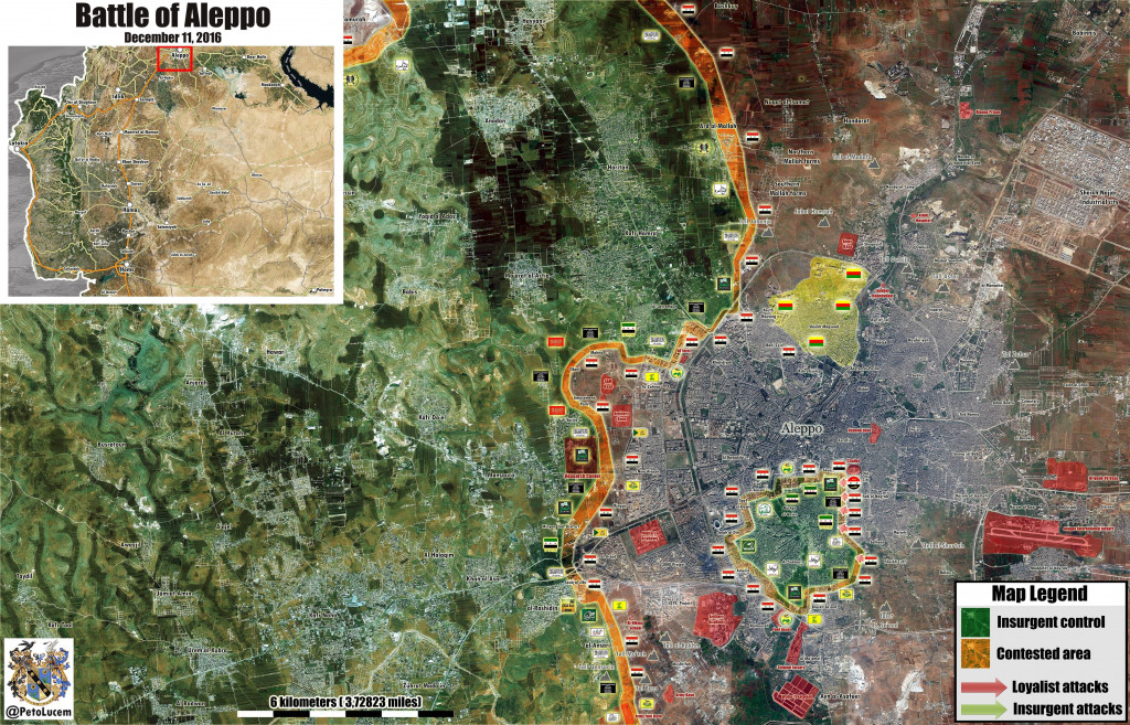 Syrian Army Liberates Four Neighborhoods In Aleppo City