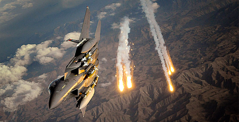 Airstrikes of US-Led Coalition Lead to Casualties Among Civilians & Government Forces