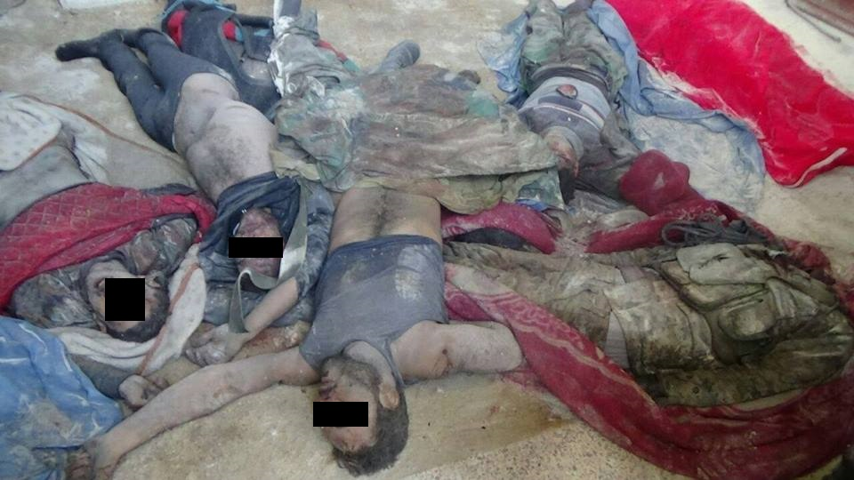 'Moderate Rebels' Executed Hostages before Leaving East Aleppo (Graphic Photo 18+)