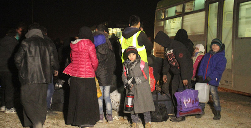 Over 6,400 People Left Eastern Aleppo in First 24 Hours of Evacuation