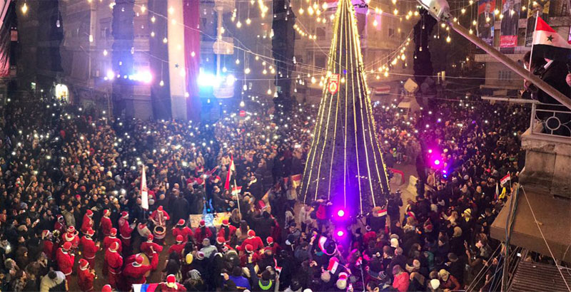 Aleppo Citizens Celebrate Liberation of City (Photo & Video)