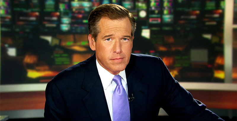 Fake News King Brian Williams Launches Campaign against 'Fake News'
