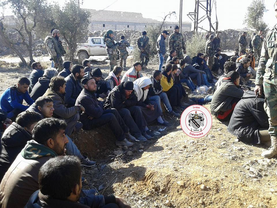 Militants surrendered to govt forces in Aleppo