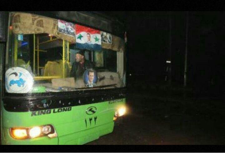 First Images Of Rebel Evacuation In East Aleppo