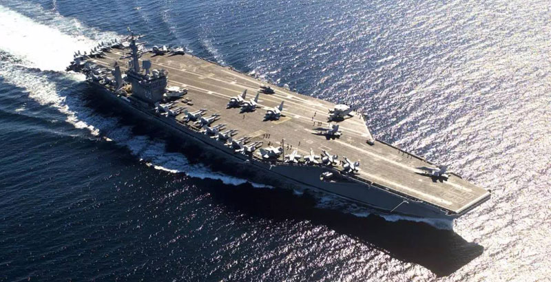 Trio of French Police Officers Illegally Ship Out on US Aircraft Carrier